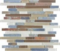 Bliss Linear Amber Tea Mosaic AC35-023