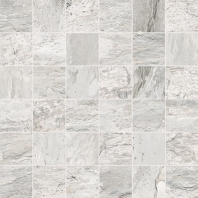 Eleganza White 2x2 Marble Look - Mosaic Tile
