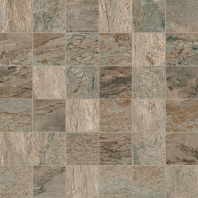 Eleganza Golden Gray 2x2 Marble Look - Mosaic Tile