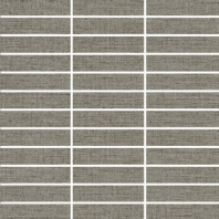 "Eleganza Wool 1"" x 4"" Fabric Look Mosaic Tile ZH6817QQ55P"