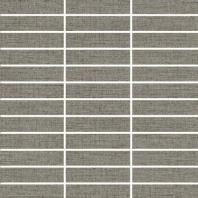 "Eleganza Wool 1"" x 4"" Fabric Look Mosaic Tile ZH6817QQ55P"