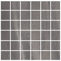 Eleganza Antracite 2x2 Semi-Polished Marble Look Mosaic Tile HO-0MS5L