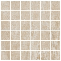 Eleganza Avorio 2x2 Semi-Polished Marble Look Mosaic Tile HO-1MS5L