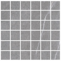 Eleganza Medium Grey 2x2 Marble Look Mosaic Tile GIVS2213-H