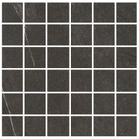 Eleganza Dark Grey 2x2 Marble Look Mosaic Tile GIVS2216-H
