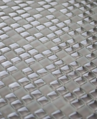 Eleganza Capuccino 3/8 Glass Mosaic Tile MICRON-CAPPUCCINO-12X12
