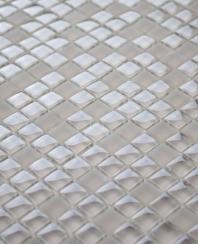 Eleganza Mocha 3/8 Glass Mosaic Tile MICRON-MOCHA-12X12
