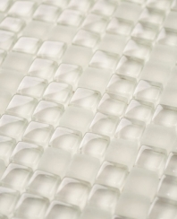 Eleganza Warm White 3/8 Glass Mosaic Tile MICRON-WARM-WHITE-12X12