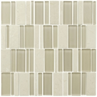 Eleganza Cool Stacked Mosaic Tile MOOD-SERIES-COOL