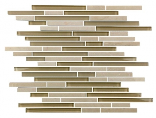 Eleganza Coast Interlocking Mosaic Tile GL3202