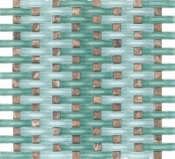 Eleganza Bahama Basketweave Mosaic Tile GL3052
