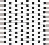Eleganza Bora Basketweave Mosaic Tile GL3059