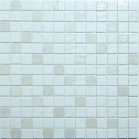 Eleganza Nature Blends Upsala White 1x1 Mosaic Tile 202332