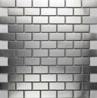 Mosaic Tile Essen Stainless Steel
