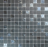 Eleganza Nature Blends Upsala Dark Grey 1x1 Mosaic Tile 202328