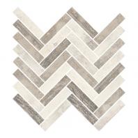 Eleganza Pier Wood Look Herringbone Mosaic Tile F000916