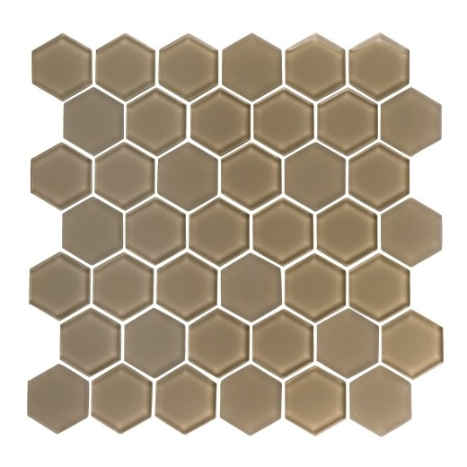 Hexagon Gl Mosaic Tile Gl3513