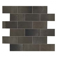 Eleganza Metal Matte Interlocking Metal Look Mosaic Tile 02STWMB77R