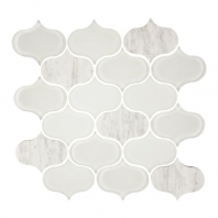 Eleganza Ocean Water-Jet Arabesque Mosaic Tile GD-52