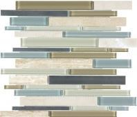 Bliss Stainless Sea Coast Mosaic AC35-044