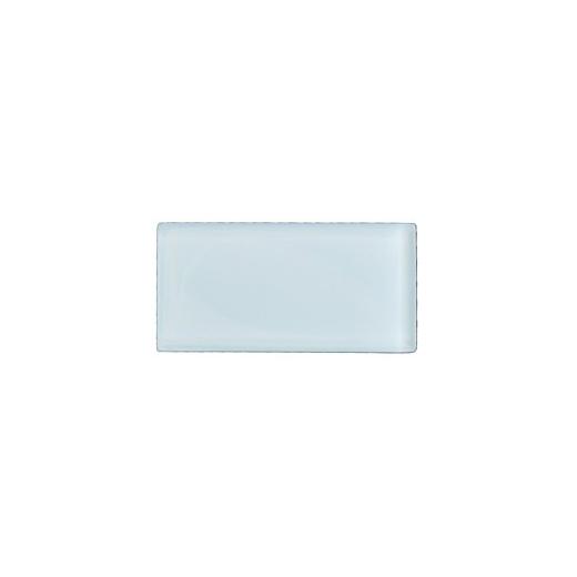 Eleganza Crystal Blue 3x6 Subway Glass Mosaic Tile GLV3602
