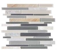 Bliss Stainless Fossil Rock Mosaic AC35-045