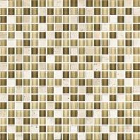 Eleganza Oscuro 1/2x1/2 Mosaic Tile GL3007