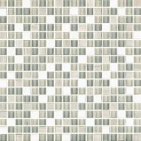 Eleganza Tempest 1/2x1/2 Mosaic Tile GL3008