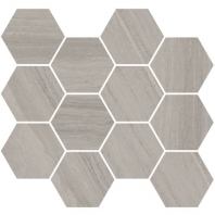 Eleganza Monterey Matte Marble Look Hexagon Tile Coastline-325-Hex
