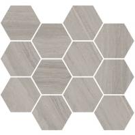 Eleganza Monterey Matte Marble Look Hexagon Tile Coastline-325-Hex