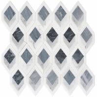Ashbury Series Cobolt Avenue Long Hexagon Mosaic Tile AHR-431