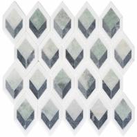 Ashbury Series Cornflower Way Long Hexagon Mosaic Tile AHR-432