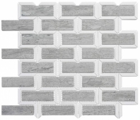 Colosseum Series Noble Knight Interlocking Mosaic Tile COM-6502