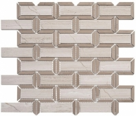 Colosseum Series Caesar Beige Interlocking Mosaic Tile COM-6503
