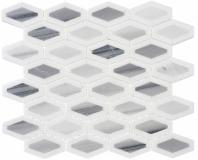 Garden Party Series Mountain Peak Long Hexagon Mosaic Tile GDN-134