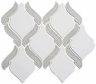Lumiere Series Aux Champignon 1 Arabesque Mosaic Tile LMR-8505