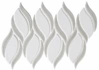 Lumiere Series Aux Champignon 2 Spiral Mosaic Tile LMR-8515