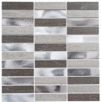 Maison De Luxe Series Dubai Luxury 1x4 Stacked Mosaic Tile MDX-2701