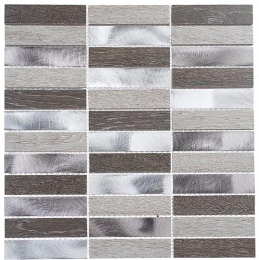 Maison De Luxe Series Dubai Luxury 1x4 Stacked Mosaic Tile MDX-2701