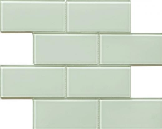 Blocco Series Delicate Mint Mosaic Tile MD24