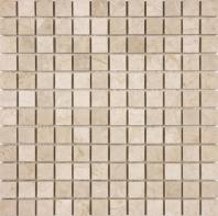 Anatolia Uptown Stone 1x1 Honed Allure Crema Mosaic AC76-363