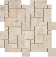 Anatolia Uptown Stone Honed Mini Versailles Allure Crema Mosaic AC76-366
