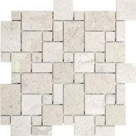 Anatolia Uptown Stone Polished Berkshire Crema Versailles Mosaic ACNS109