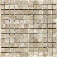 Anatolia Uptown Stone 1x1 Honed Emperador Light Mosaic ACNS166