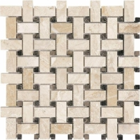 Anatolia Uptown Stone Honed Impero Reale Basketweave Tile AC76-414