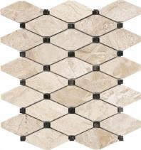 Anatolia Uptown Stone Polished Impero Reale Clipped Diamond Mosaic AC76-411