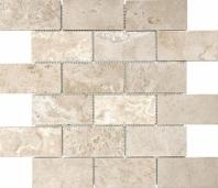 Anatolia Uptown Stone Filled And Honed 2x4 Ivory Subway Mosaic ACNS322