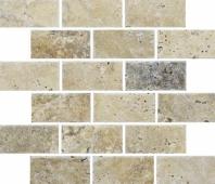 Anatolia Uptown Stone 2x4 Tumbled Picasso Subway Tile ACMS844