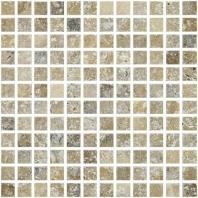 Anatolia Uptown Stone 1x1 Tumbled Picasso Mosaic ACMS714