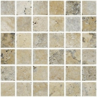 Anatolia Uptown Stone 2x2 Tumbled Picasso Mosaic ACMS835